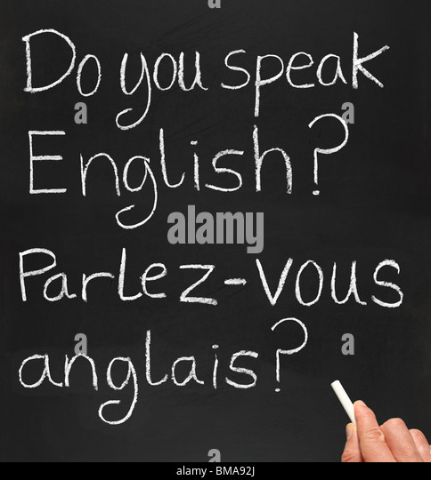 how to say you speak french in french