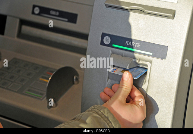 atm person display stock photos atm person display stock images alamy. Black Bedroom Furniture Sets. Home Design Ideas