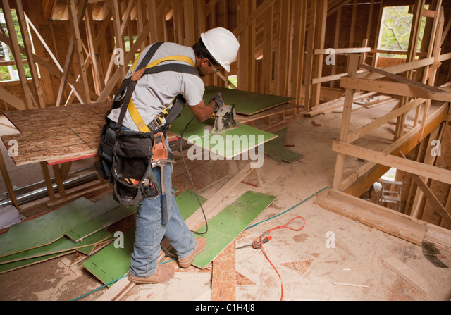 Sheathing construction stock photos sheathing for Exterior wall sheeting