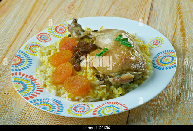 Pulaw stock photos pulaw stock images alamy for Azerbaijani cuisine