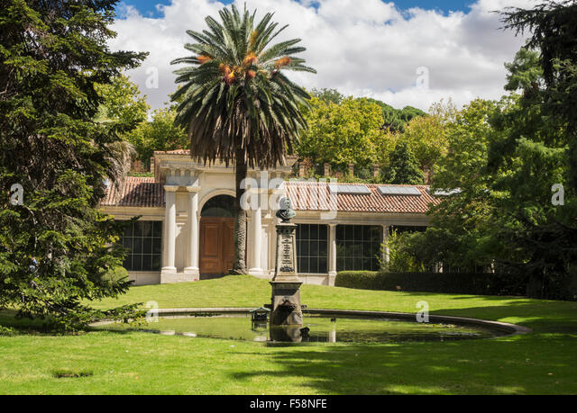 Botanic gardens madrid stock photos botanic gardens for Jardin botanico madrid precio