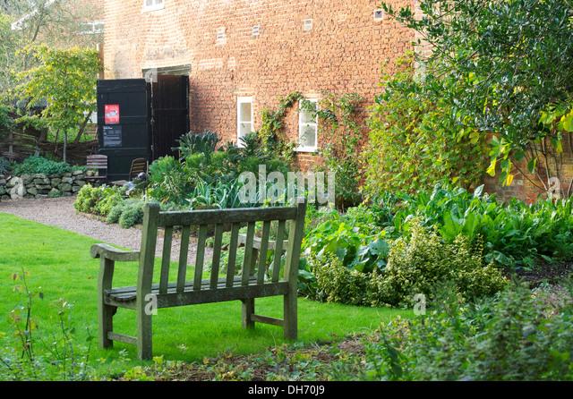 Bench Garden Lawn Stock Photos Bench Garden Lawn Stock Images