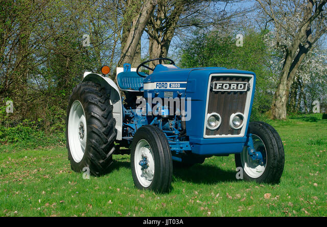Ford Orchard Tractor : Rare farm machinery stock photos