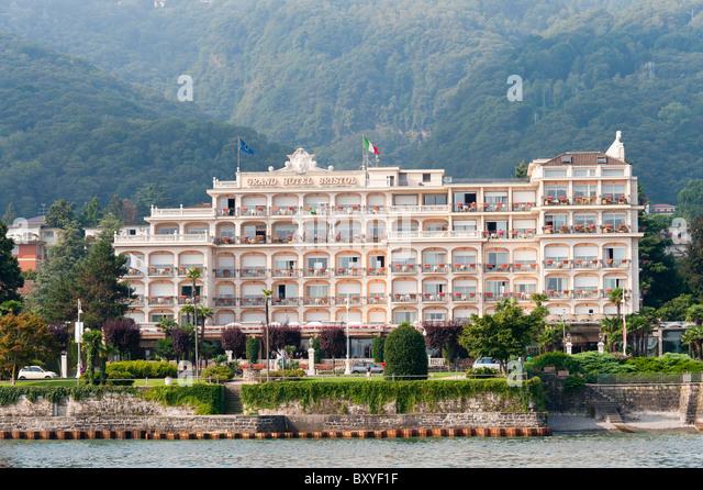 Grand hotel bristol stock photos grand hotel bristol for Designhotel lago maggiore