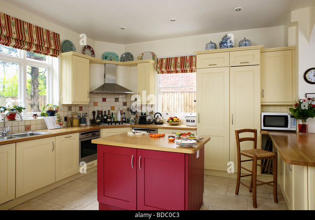 red and cream kitchens island units neutral stock photos amp island units neutral 851