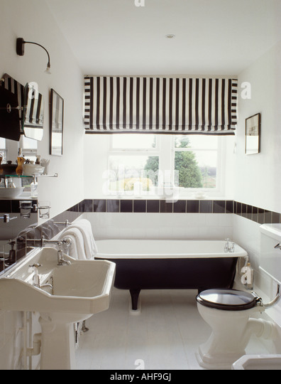 Designer Bathroom Blinds bathroom blind monochromatic stock photos & bathroom blind