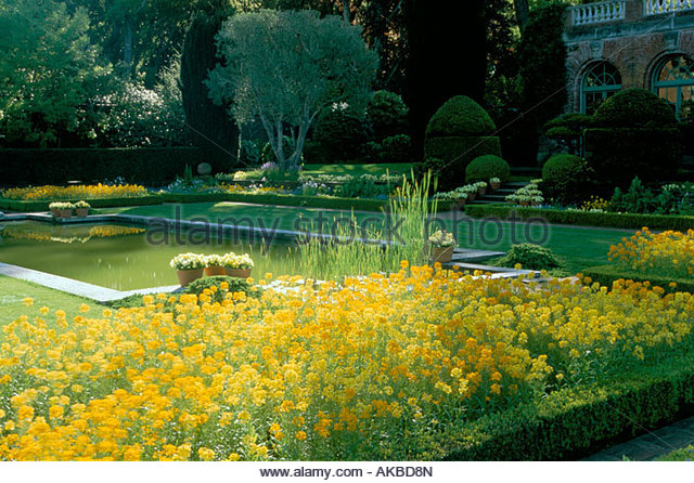 Filoli garden stock photos filoli garden stock images for Filoli garden pool
