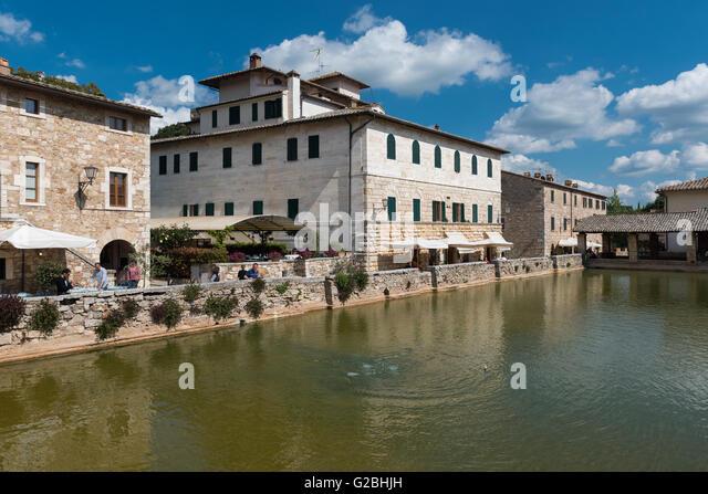 hot springs pond spa bagni san filippo castiglione dorcia province of