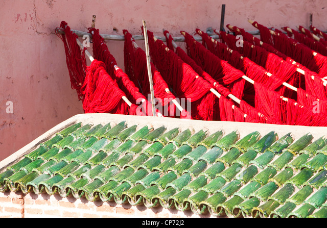 Knitting Factory Bali : Dying cloth stock photos images alamy