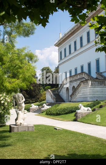 Gardens of villa melzi stock photos gardens of villa melzi stock images alamy - Giardini di villa melzi ...