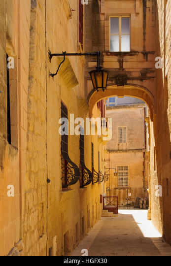 malta old alley houses - photo #28
