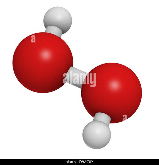 Hydrogen Peroxide Molecule Stock Photos & Hydrogen ...