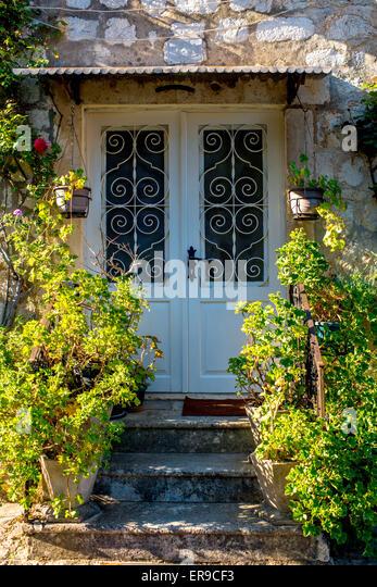 Villa Front Door Stock Photos Villa Front Door Stock