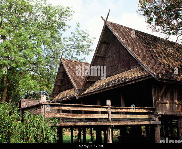 Gabled stock photos gabled stock images alamy for Classic house chiang mai