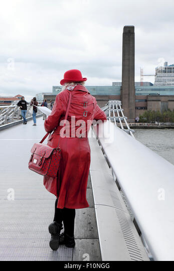 Red Coat Rear View Stock Photos & Red Coat Rear View Stock Images ...