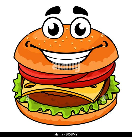 cartoon burger stock photos amp cartoon burger stock images