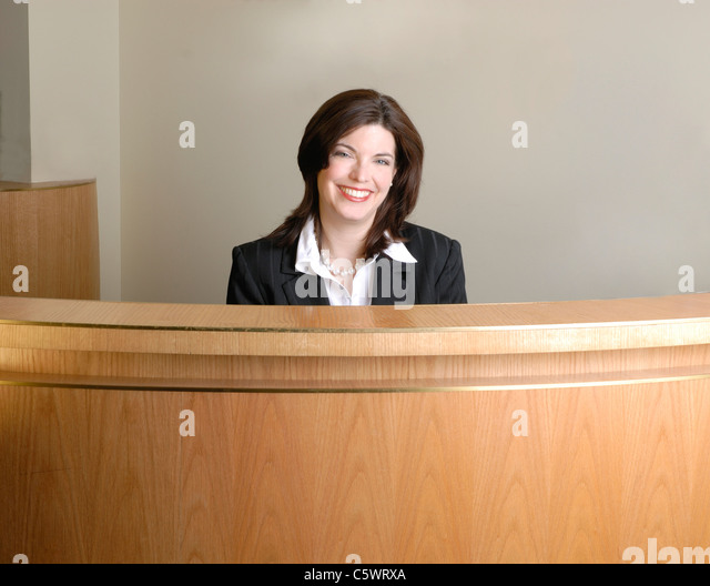 hotel receptionist stock photos hotel receptionist stock images