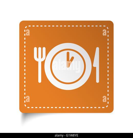 Lunch symbol