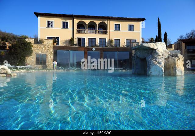 Thermae hotel stock photos thermae hotel stock images alamy - Offerte hotel adler bagno vignoni ...