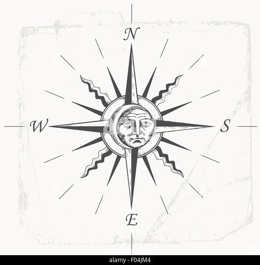 Cool Compass Rose Drawings