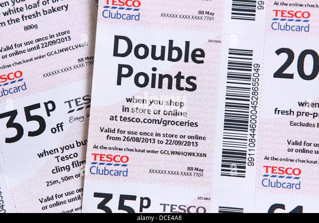 Tesco discount coupons