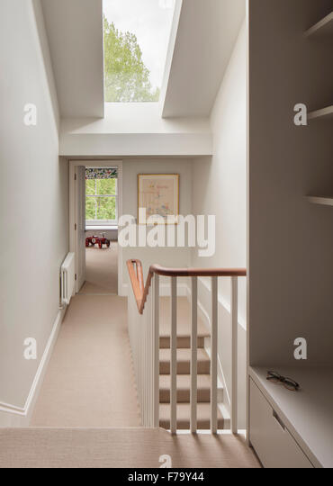 Hallway And Stairs In Modern Family Home, London 2012, Design By De Rosee Sa