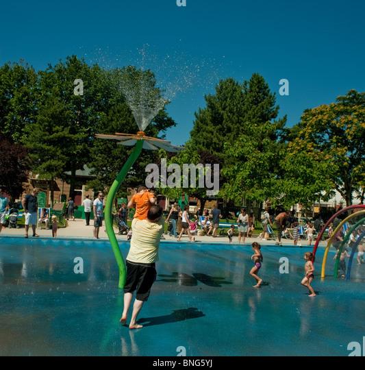 Children public group pool stock photos children public for Public pools in paris france