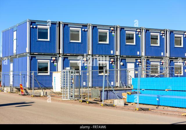 Modular construction stock photos modular construction for Prefab work shed