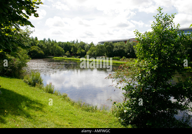 Half round stock photos half round stock images alamy for Small round pond