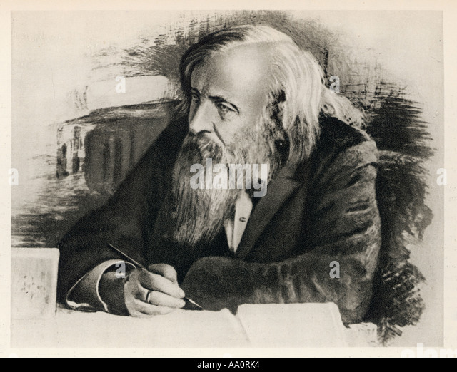 a biography of dmitri ivanovich mendeleev a chemist Dmitri ivanovich mendeleev • dmitri ivanovich mendeleev (noun) the noun dmitri ivanovich mendeleev has 1 sense: 1 russian chemist who developed a periodic table of.