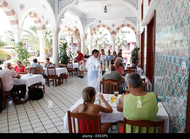 Ali bey club manavgat stock photos ali bey club manavgat for Terrace 33 menu