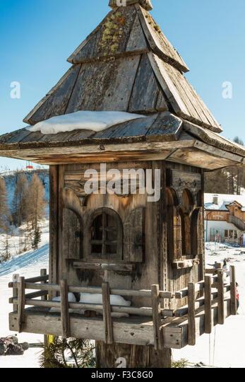 Wood Bird Shelter : Animal shelter entrance stock photos