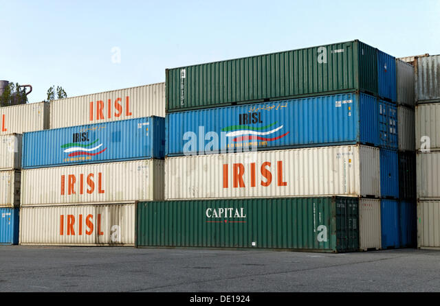 French port containers stock photos french port for Container alsace