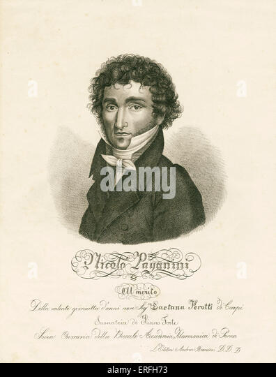a biography of niccolo paganini an italian composer It was on this date, october 27, 1782, that italian virtuoso violinist and composer  niccolò paganini was born in genoa like mozart, who was born 26 years.
