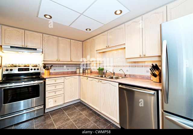 Luxury house interiors stock photos luxury house interiors stock images alamy - Luxurious kitchen appliances ...