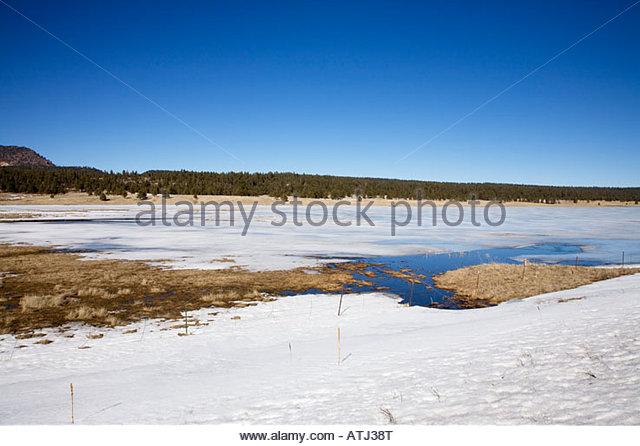Ice fishing usa stock photos ice fishing usa stock for Apache lake fishing
