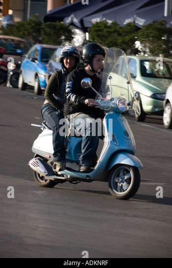 Italy Scooter Female Stock Photos Italy Scooter Female