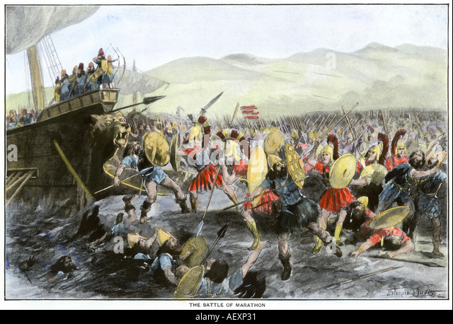 battle of marathon Battle of marathon is incredibly important because it proved that the persians were not immortal turning point in history over two hundred years the greeks were able to develop the rise of the classical greece civilization.