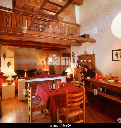 France Chalet Interior Stock Photos & France Chalet Interior Stock Images