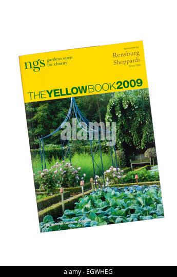 A Copy Of The National Garden Scheme Book Of Gardens In England U0026 Wales  That Are