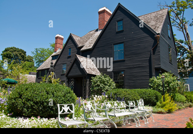 the house of seven gables Hawthorne's moral for the house of the seven gables, taken from the preface, accurately presages his story the full weight of the gloomy mansion of the title seems to sit on the fortunes of the pyncheon family.