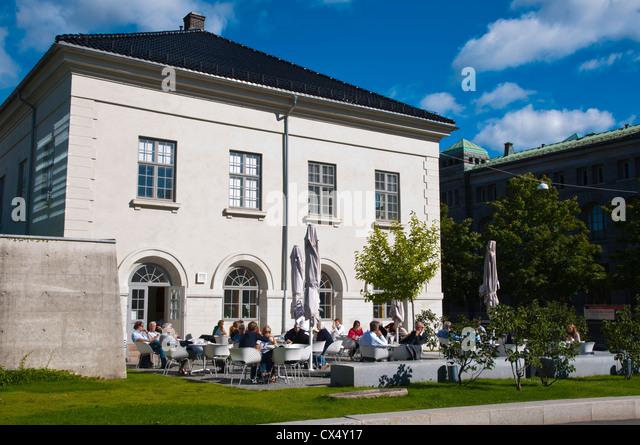 Museum Of Arts And Design Restaurant : Kvadraturen stock photos images alamy