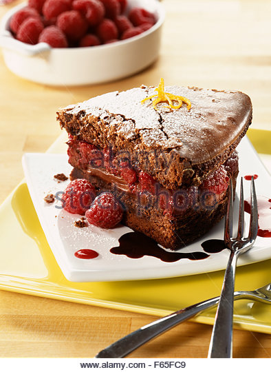 Chocolate Fatless Sponge Cake