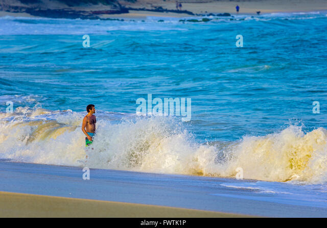 Swimmer Standing Man Stock Photos Swimmer Standing Man Stock Images Alamy