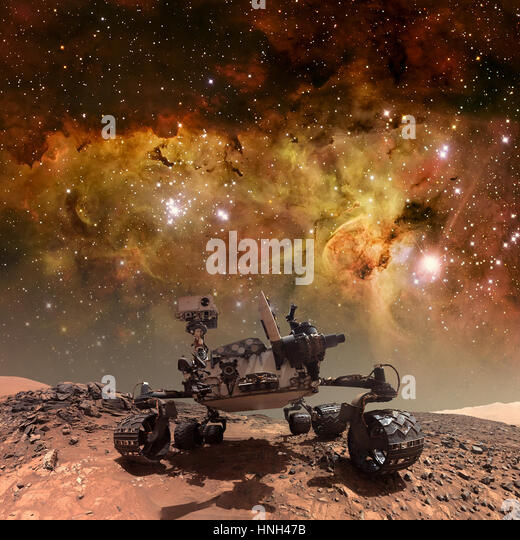 Curiosity Rover Mars Science Laboratory Stock Photos ...