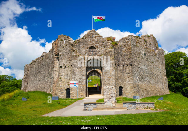 Oystermouth Castle Stock Photos & Oystermouth Castle Stock ...