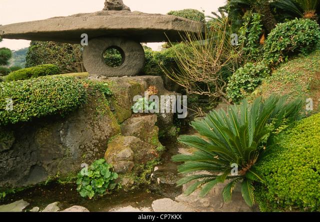Japanese Garden Kagoshima Stock Photos & Japanese Garden Kagoshima Stock ...