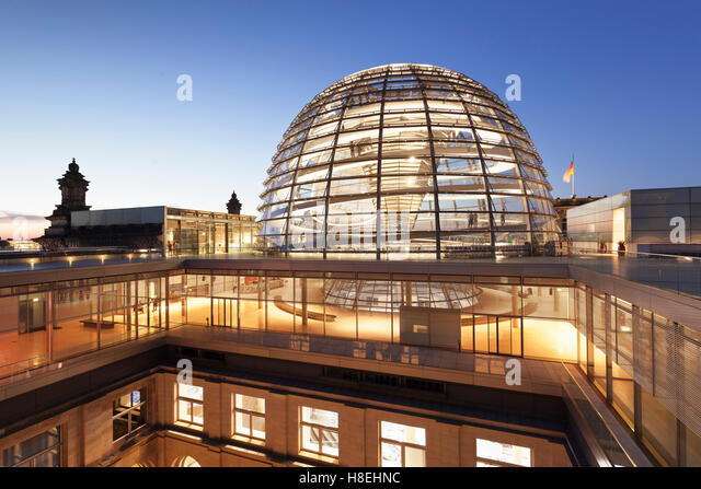 glass dome reichstag german parliament stock photos glass dome reichstag german parliament. Black Bedroom Furniture Sets. Home Design Ideas