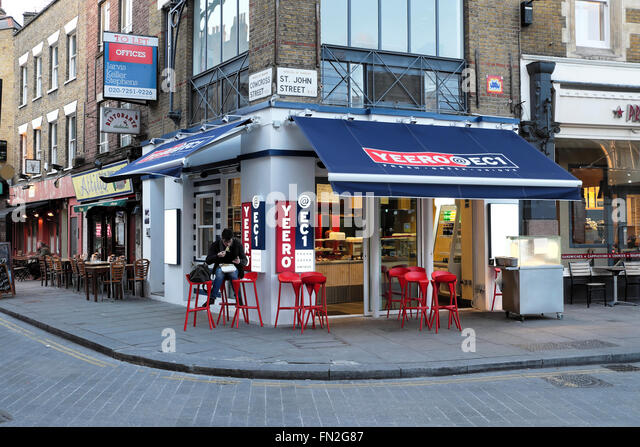 Greek Restaurant Farringdon Road