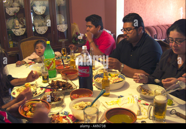 Family Meal Mexico Stock Photos & Family Meal Mexico Stock ...